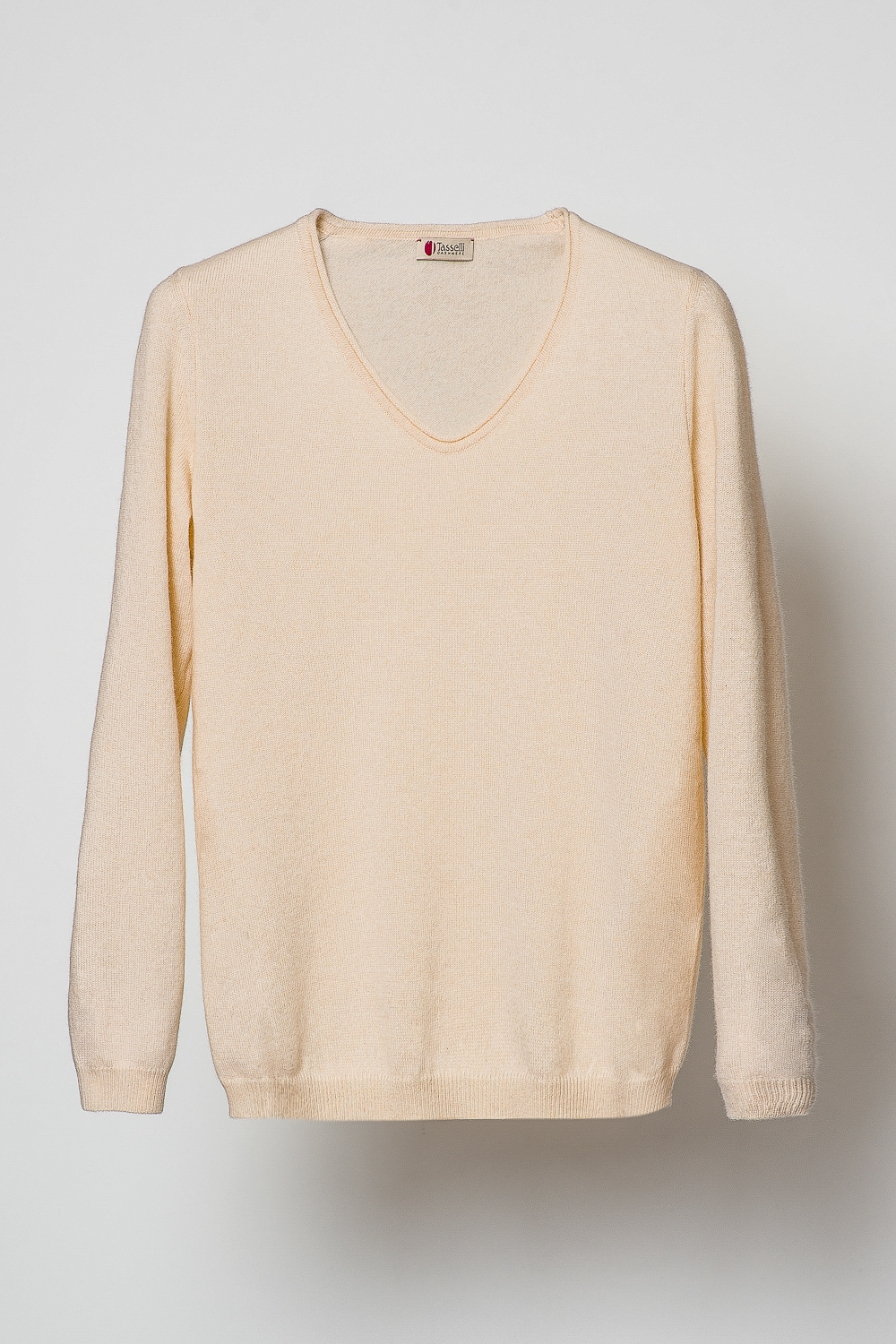 V Neck Sweater - Pure Cashmere