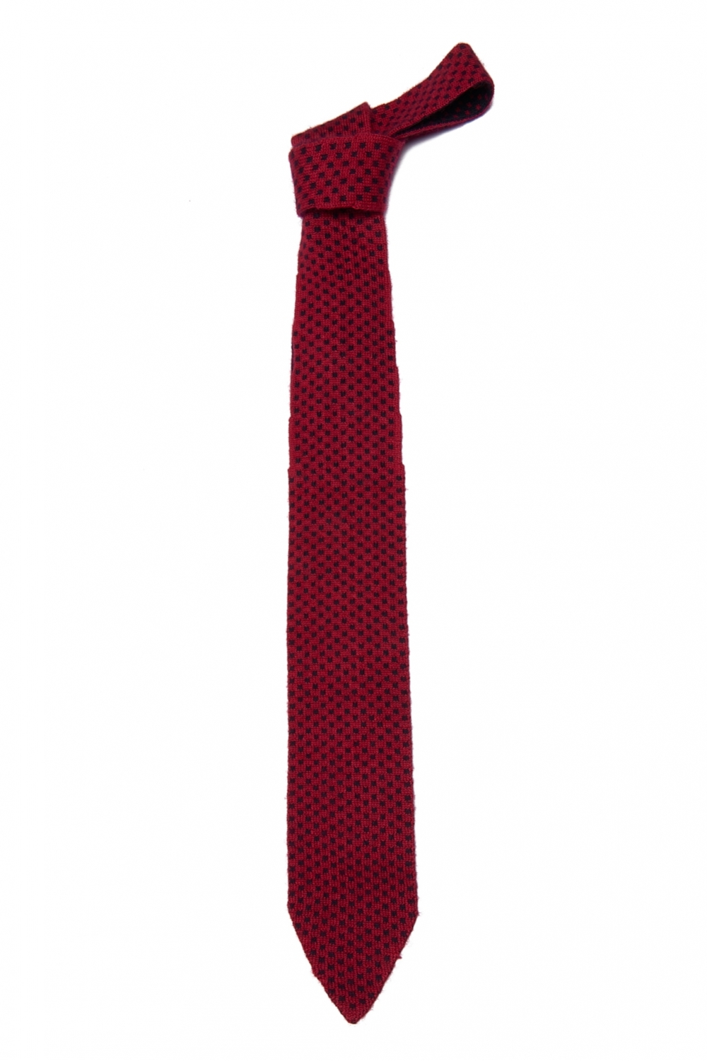 """Square Pattern Tie 06 """"Double Face"""""""